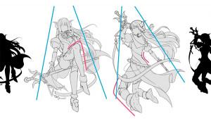 構圖讓角色更顯魅力的3種構圖範例!