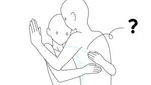 【繪製BL的困難點】理解人體交疊時的結構和構圖!
