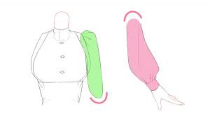 【進行上色】重疊部位的上色法