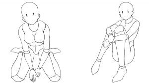 各式坐姿構圖之應用篇