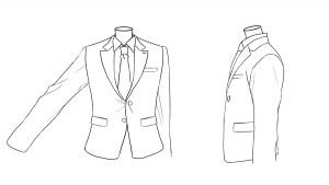 【描繪線稿】理解服裝和手的構造