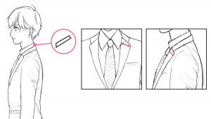 【西裝篇】學習服裝皺褶