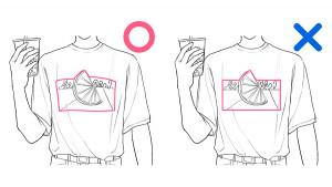 【夏季搭配(T恤)篇】學習服裝皺褶