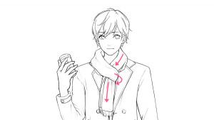 【冬季搭配(大衣外套)篇】學習服裝皺褶