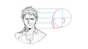 【側面・後方角度篇】一起來畫不同角度的臉