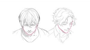 【傾斜角度篇】一起來畫不同角度的臉