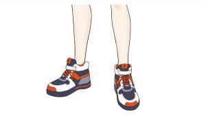 草稿至線稿的過程!運動鞋的畫法