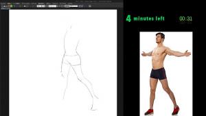 畫出肌肉感的男性-2-