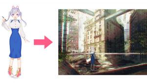 【加工・重點整理】利用Photobash製作插圖