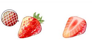 【草莓聖代篇】試著來畫甜點吧!