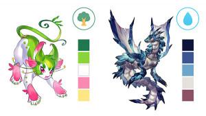 學習關於怪獸之怪獸種類・繪製方法