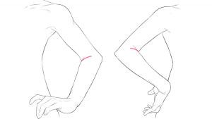 【應用篇②】繪製叉在腰間的手部