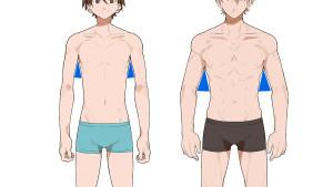 【纖細體型篇】繪製男性的身體