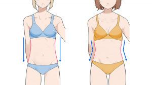 【纖細體型篇】繪製女性的身體