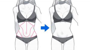 【曲線體型篇】繪製女性的身體